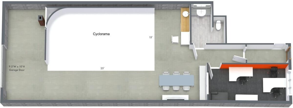 Rev Studio 3D Floor Plan